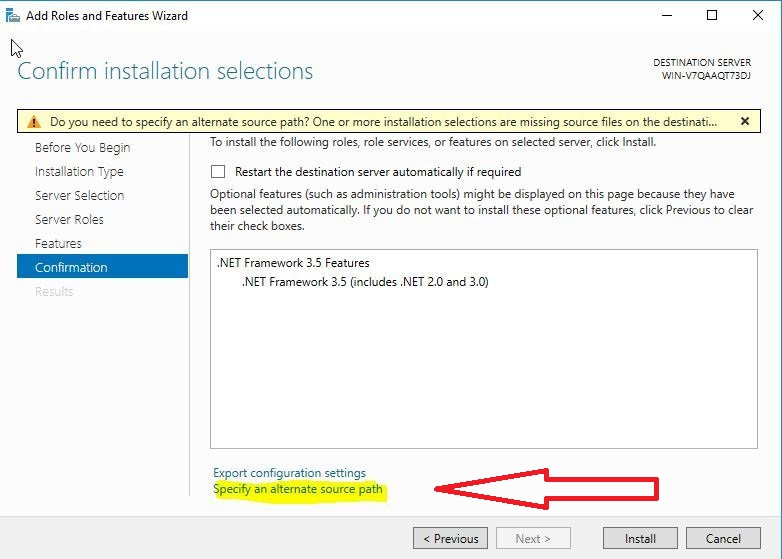 آموزش نصب دات نت در ویندوز سرور ۲۰۱۶ و ۲۰۱۲